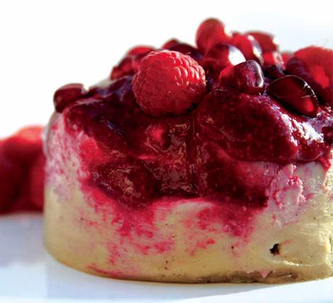 Raspberry beret raw food recipe
