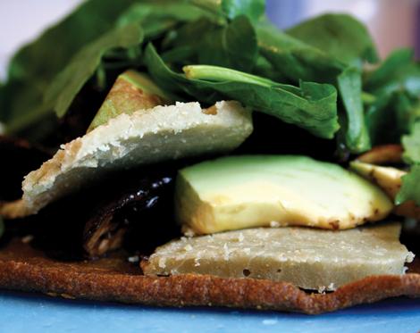 Hard cheese raw food recipe