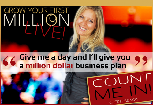 Give me a day and I'll give you a million dollar business plan