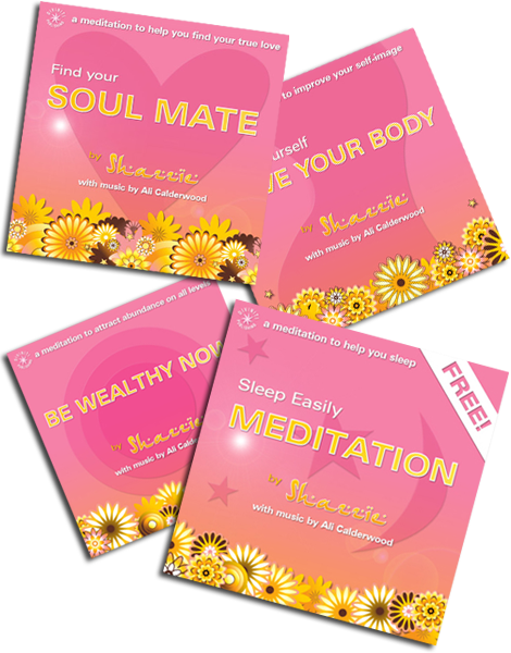 Guided meditations by Shazzie