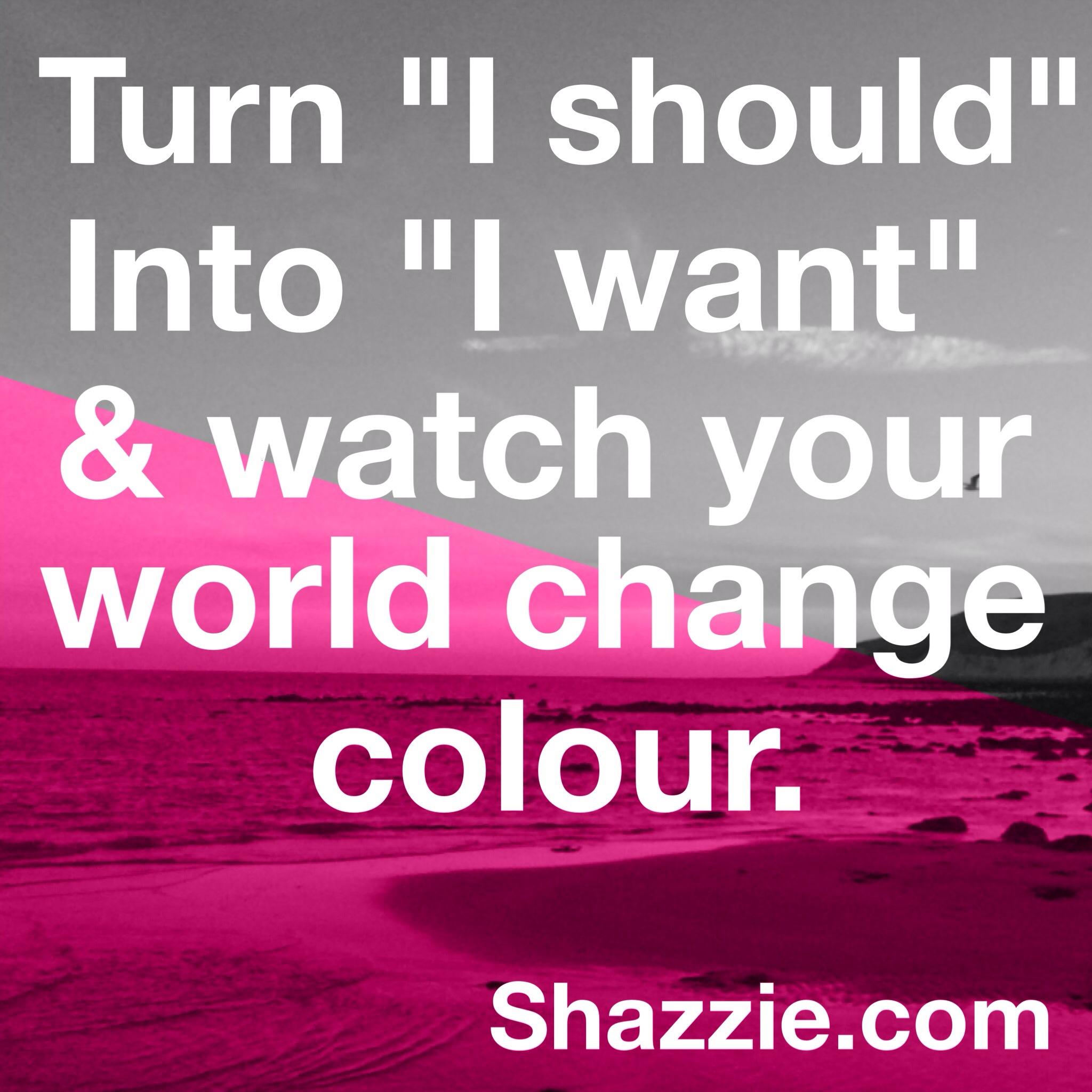 Shazzie quote