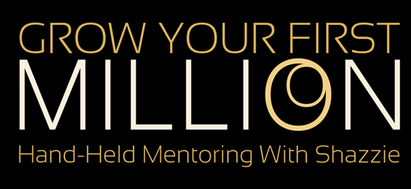 Grow Your First Million Hand Held Mentor