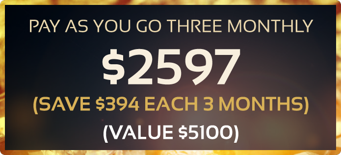 Pay as you go 3 monthly starter