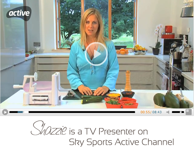 Shazzie is a Sky TV Presenter