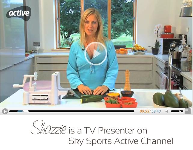 Shazzie is a Sky TV Presenter