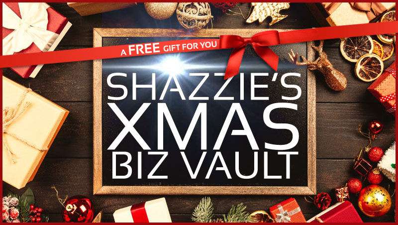 Shazzie's Xmas Biz Vault
